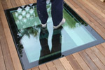 Walk on rooflight